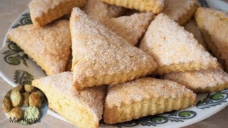 ПРОСТОЕ ПЕЧЕНЬЕ Сахарные треугольники за 20 минут/Cookies