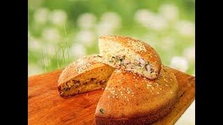 Пирог с капустой и курицей. Очень просто и вкусно!