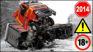 Repeat youtube video CRAZY Truck Crashes, Truck Accidents compilation - Part 4