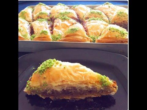 En güzel kekli baklava tarifi ( baklava ustasından )