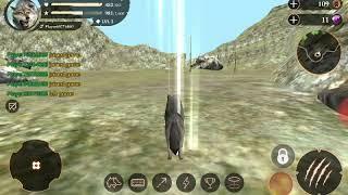 Играю в игру за волка и ем животных игра онлайн
