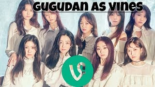 Gugudan as vines (TRY NOT TO LAUGH)