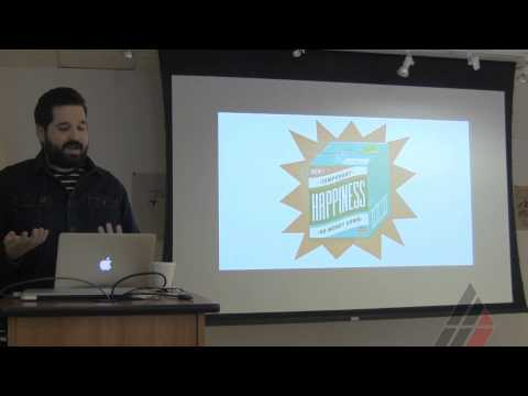 Mikey Burton Visiting Artist Lecture at American Academy of Art