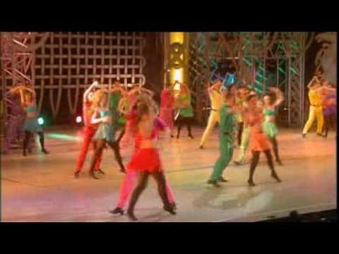 Michael Flatley Feets of Flames Dance Above Rainbow