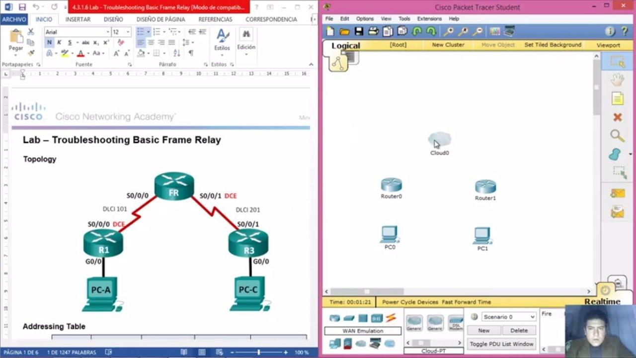 4316 Lab Troubleshooting Basic Frame Relay YouTube