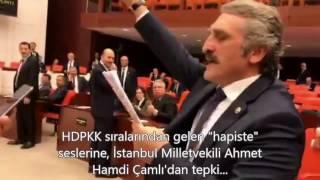 HDP'nin Terörden Tutuklu Vekillerin İsimlerini Çağırma Eylemine Ahmet Hamdi Çamlı'dan Önemli Tepki!