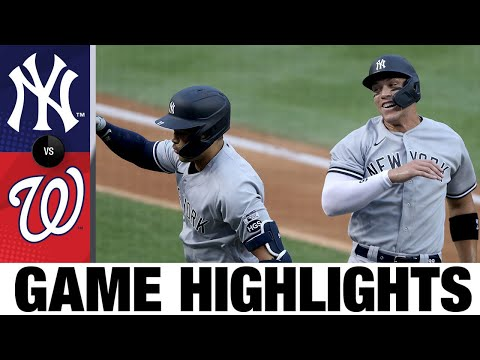 Cole-Stanton-Judge-dominate-Yankees-Opener-win-Yankees-vs.-Nationals-Highlights