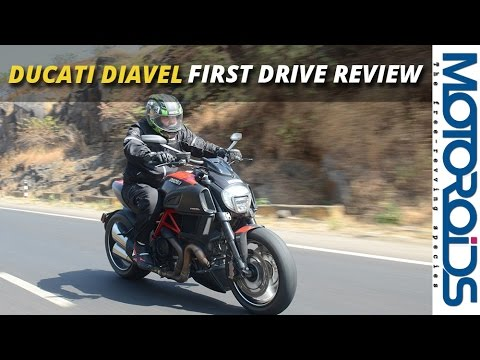Ducati Diavel Carbon India First Ride Impressions Live Youtube