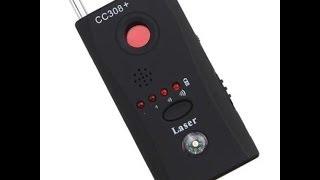 Обзор!!! Обнаружитель камер и жучков - CC308+