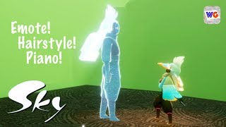Sky: Light Awaits - New Update, Emote, Hairstyle & Piano