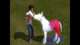Les Sims 3 - Le Poulain Licorne