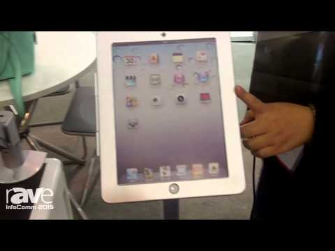 InfoComm 2015: Peacemounts Electronics Exhibits iPad Mount