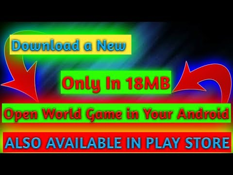 [18MB] Download a New Open world Game like GTA SAN Only in 18MBDownload Now Link In Description