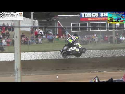 A few crashes gulf western & independent oils raceway Latrobe WSS 2018