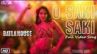 Gambar cover Batla House: O SAKI SAKI lyrical Video | Nora Fatehi, Tanishk B, Neha K, Tulsi K, B Praak, Vishal