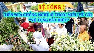 """Cảm động AE Nghệ sĩ tiễn đưa NS Phan Quốc Hùng chồng Nghệ sĩ Thoại Miêu về cõi """"Vô tung Bất diệt"""""""
