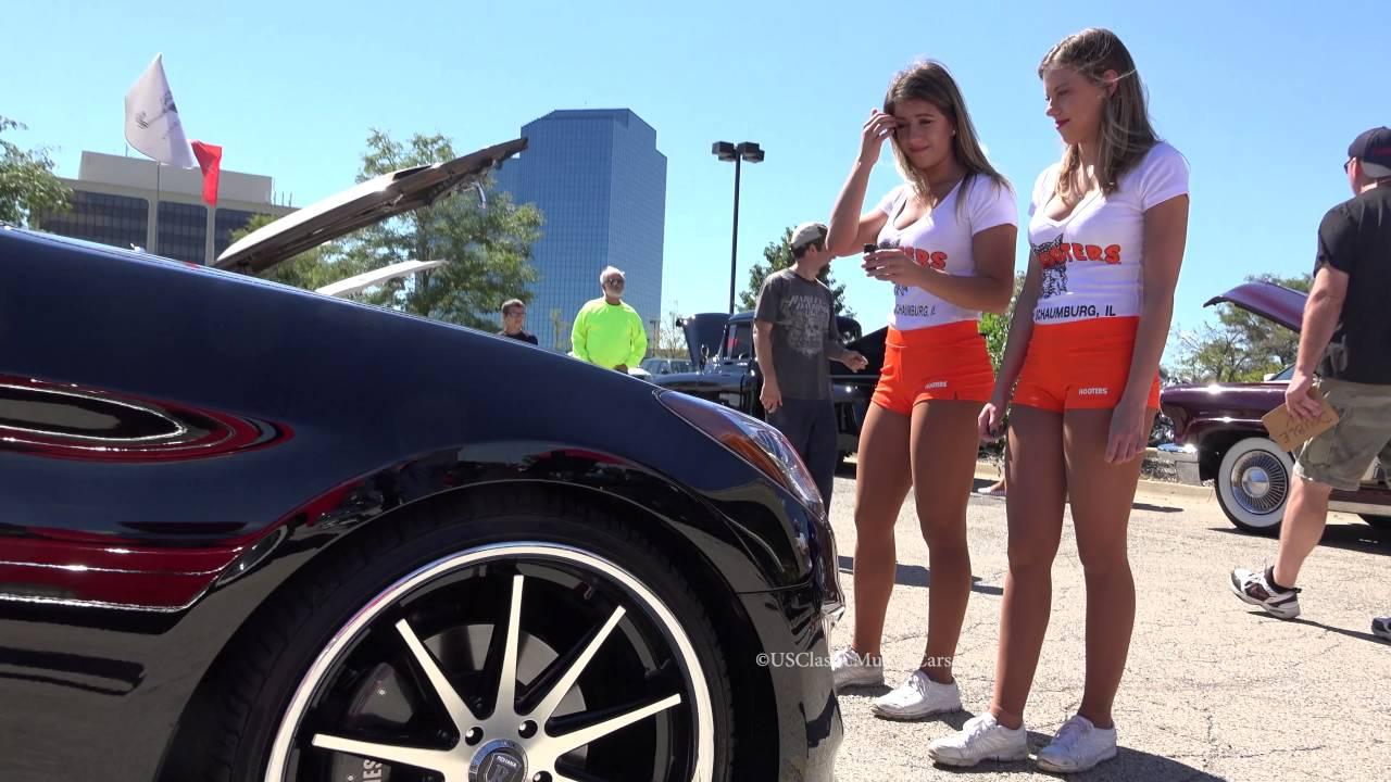 Genesis Coupe 2016 >> Hooter Car Show - USClassicMuscleCars - 2013 Hyundai Genesis Coupe - Schaumburg - YouTube