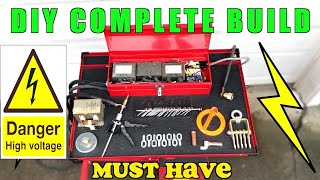 Car Body DIY Spotter Electric Dent Puller Welder From Microwaves UPDATED