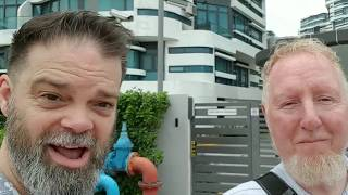 Two White Muslims in Malaysia