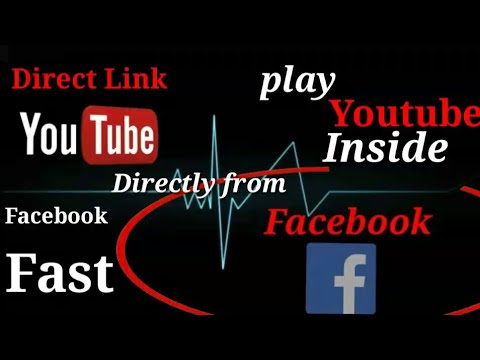 How to Play YouTube Videos in Facebook by direct link EMBED No need to  upload on fb Separately