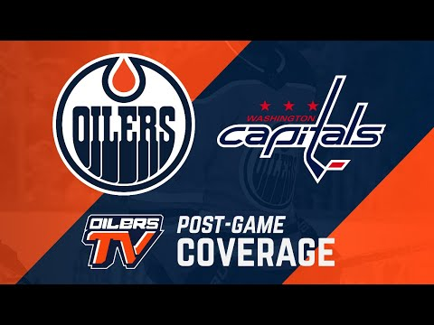 ARCHIVE | Oilers Post-Game Interviews Vs. Capitals