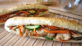 Recipe: Vietnamese-style Baguette With Marinated Chicken