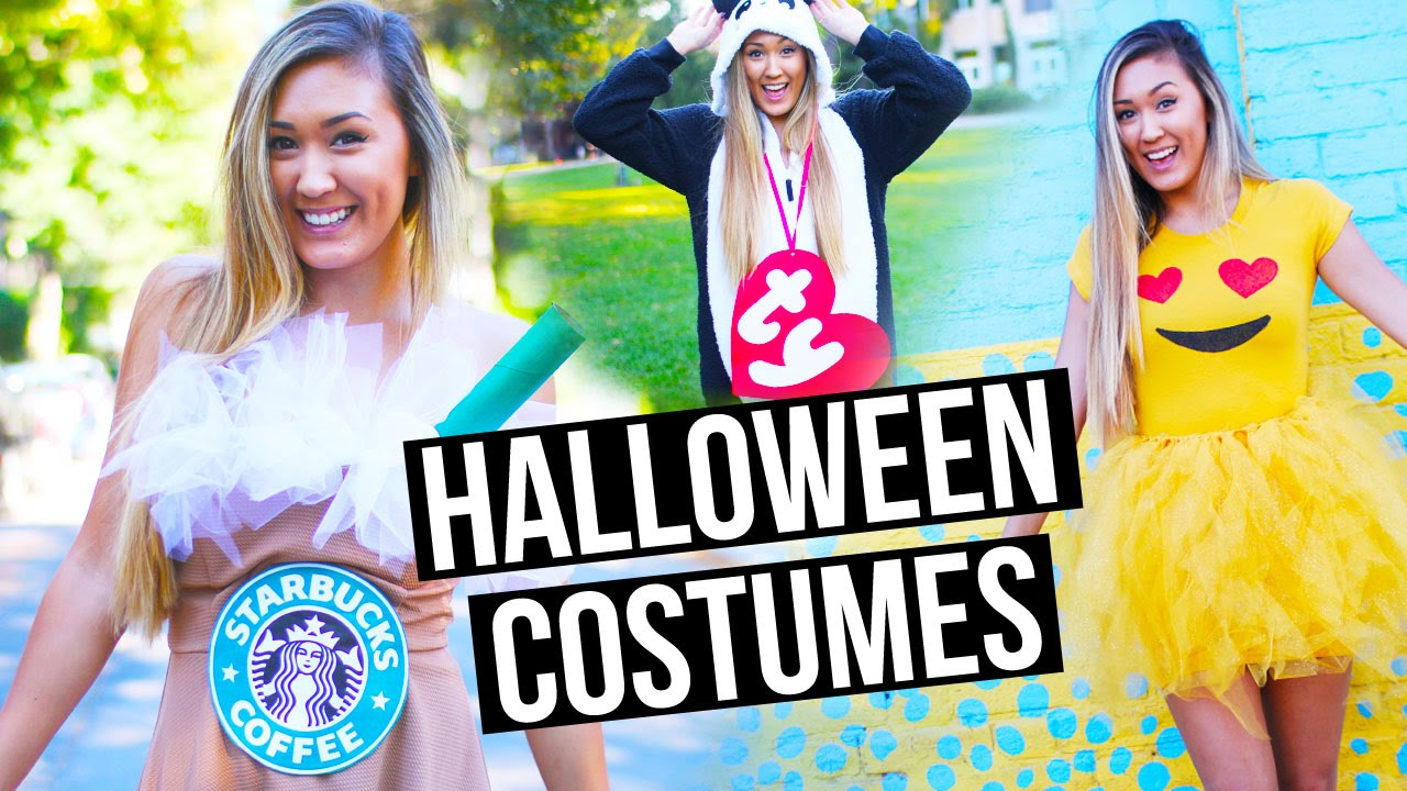 Diy halloween costumes for teens emoji starbucks beanie baby diy halloween costumes for teens emoji starbucks beanie baby youtube solutioingenieria Images