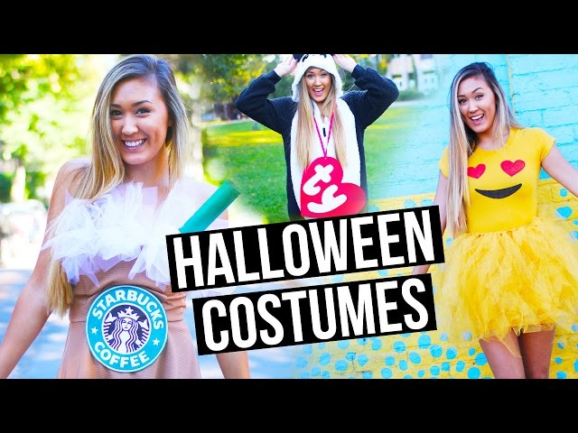 cbbbc11dc6e DIY HALLOWEEN COSTUMES FOR TEENS  Emoji