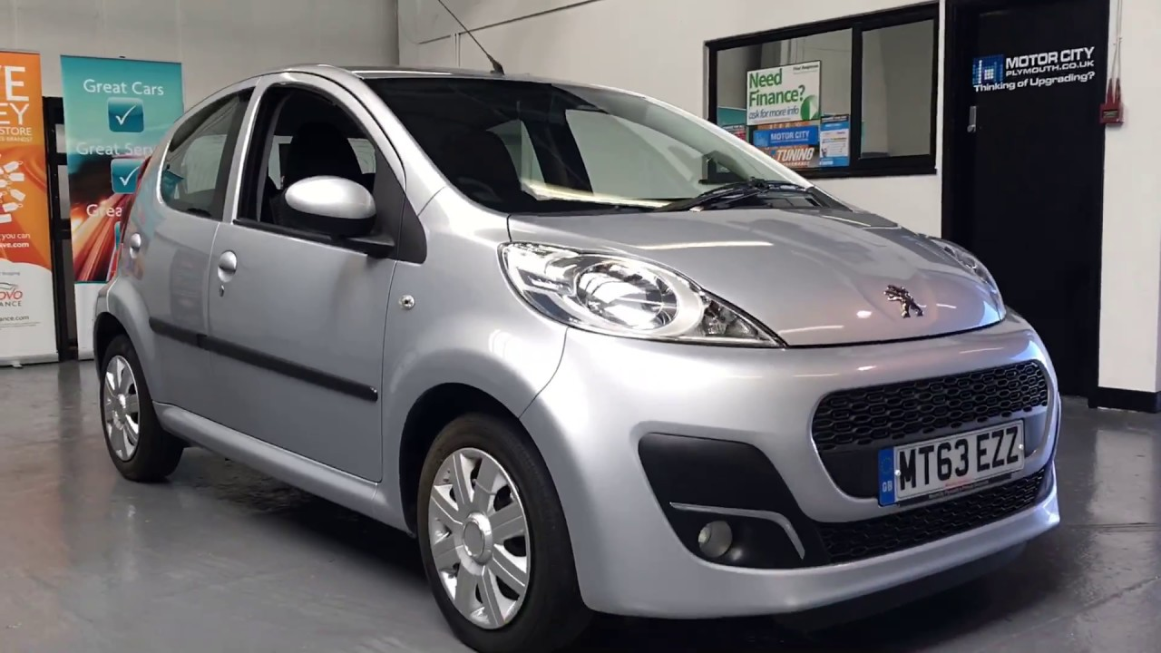 PEUGEOT 107 USED CARS FOR SALE PLYHMOUTH DEVON @ MOTORCITY PLYMOUTH ...