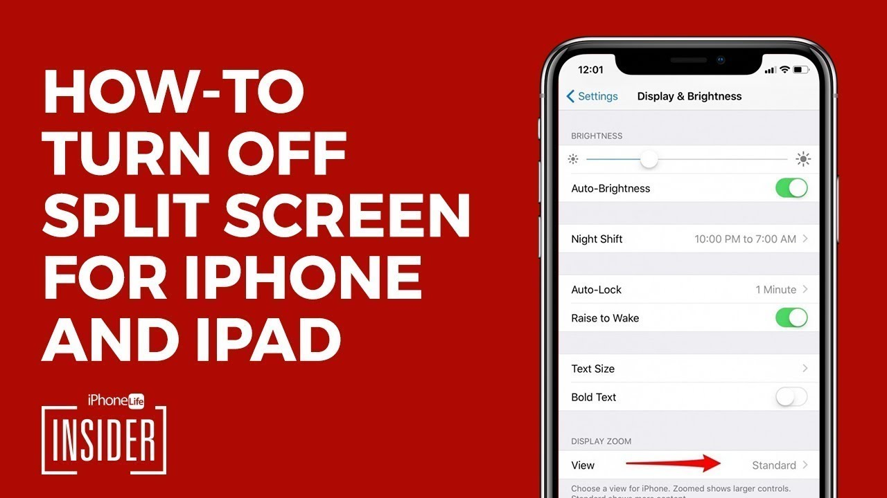 How to Get Rid of Split Screen on iPad & iPhone (UPDATED FOR