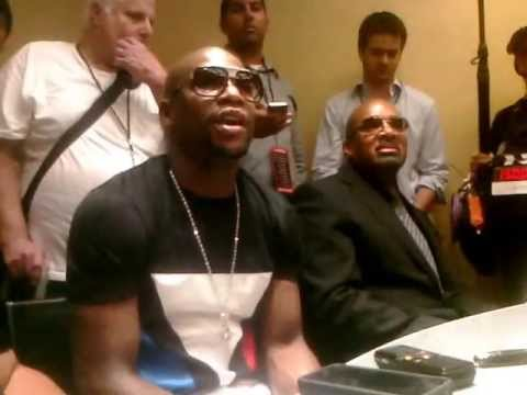 "Floyd ""Money"" Mayweather Talks Mike Tyson, Chartering A Jet from Miami and More"