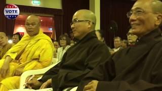 Hòa thượng áo vàng nói về sư thầy chống cộng đồng người Việt tự do