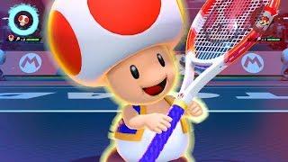 (Toad) Special Shot . Exhibition . Mario Tennis Aces (Nintendo Switch)