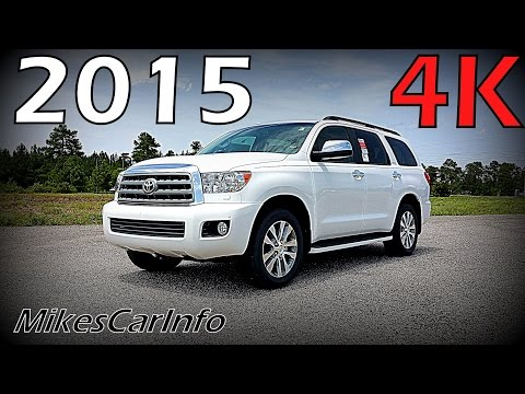 2015 Toyota Sequoia Limited Ultimate In-Depth Look in 4K