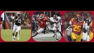 Film Session || Beastly Rookie RBS || Kerryon Johnson, Sony Michel & Ronald Jones