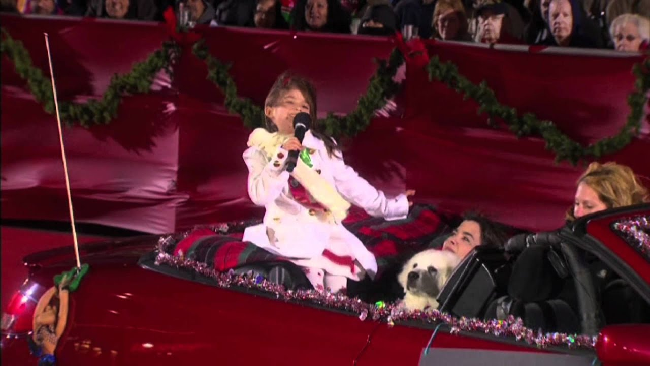 kaitlyn maher 6yo hollywood christmas parade 11282010 youtube