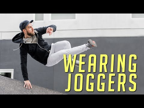 How to Wear Joggers Right || Men's Fashion Lookbook || 2017 || Gent's Lounge