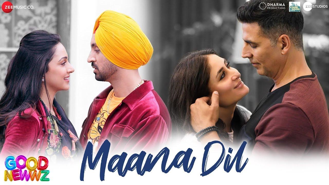 Maana Dil - Good Newwz | Akshay, Kareena, Diljit, Kiara | B Praak | Tanishk Bagchi | Rashmi Virag