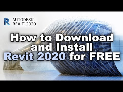 How to Download and Install Revit 2020 for Free - YouTube