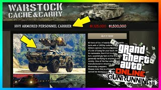 GTA 5 Online - Buying and customizing the APC