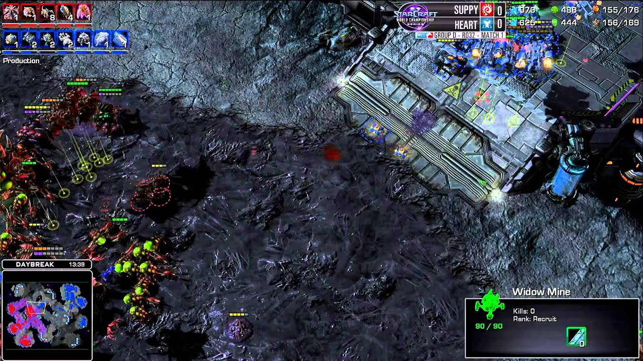 Suppy vs Heart - Game 1 - WCS AM Premier Group D