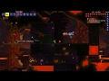 Terraria Beating the wall of flesh with a Space Gun