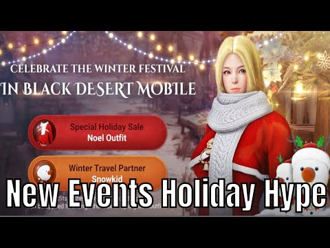 Black Desert Mobile: Holiday Event/LVL 50 Boss Fight At 1900 CP