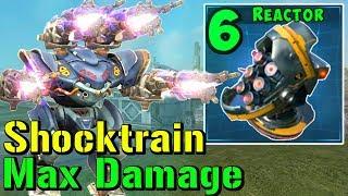 UBER SHOCKTRAIN SPECTRE Mk2 - MAX Damage Modules War Robots Gameplay WR