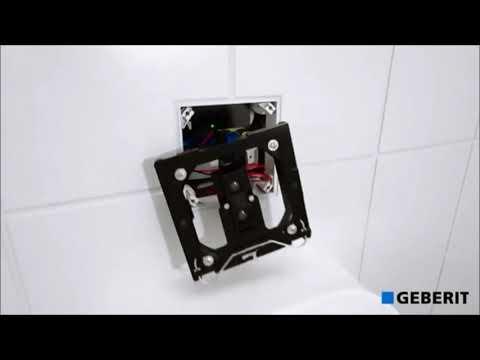 Geberit Sigma50 Betatigungsplatte Installation Youtube