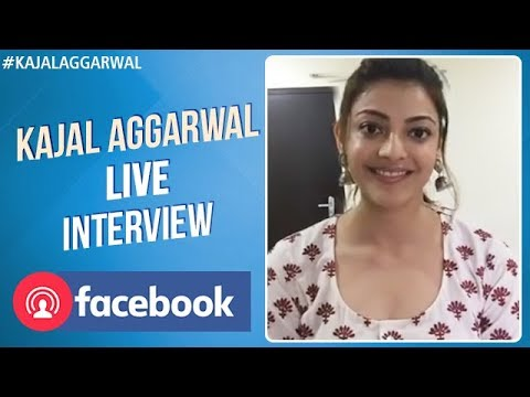 Kajal Aggarwal Facebook Live Interview with Fans