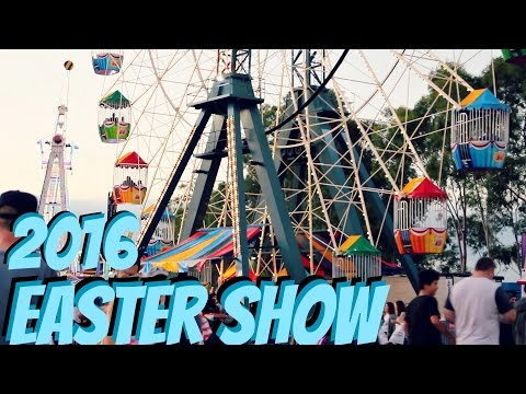Sydney Royal EASTER SHOW 2016, SHOWBAGS & RIDES