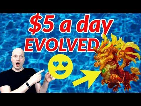 $5 A DAY. LAVANICA EVOLVED. CASTLE CLASH