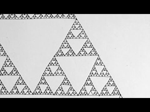 How to Draw The Sierpinski Triangle: A Fractal Zoom