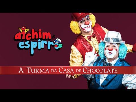 """DVD completo """"ATCHIM & ESPIRRO e A Turma da Casa de Chocolate"""""""